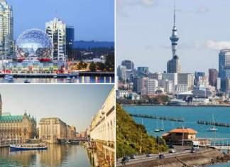 melhores cidades para se viver no mundo