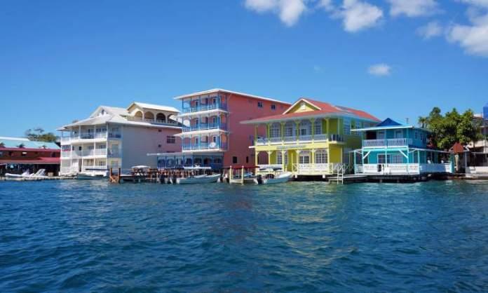 Bocas Town em Bocas del Toro Panamá