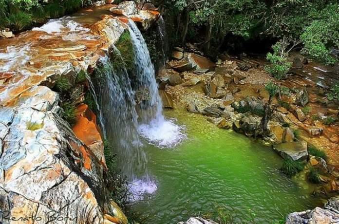 Cachoeira Vale das Borboletas em São Tomé das Letras MG