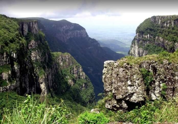 Cânion Malacara é um dos Maiores Cânions no Brasil