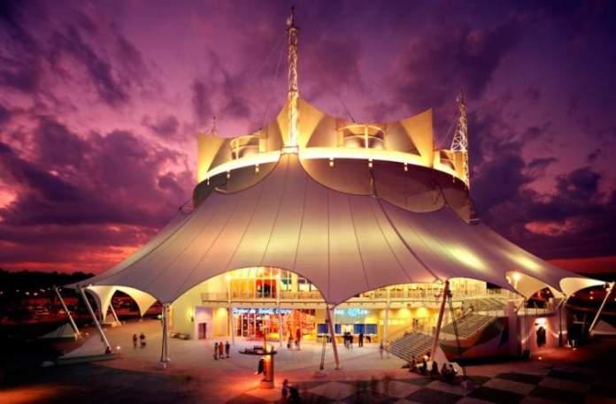 Ir no Cirque du Solei é uma das ideias do que fazer em Orlando