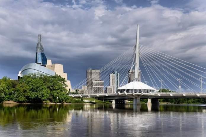Manitoba é um dos lugares impressionantes no Canadá