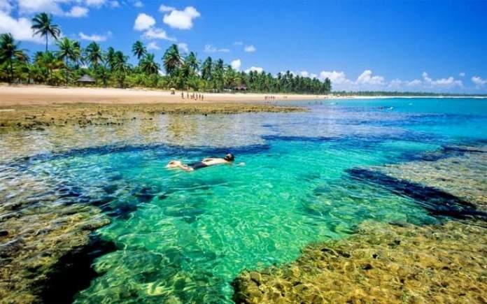 Península do Maraú é um dos Destinos no Brasil com Águas Cristalinas