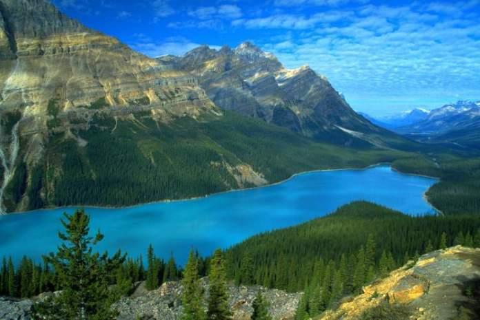 Yucon é um dos lugares impressionantes no Canadá