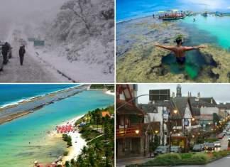 destinos para viajar nas férias de julho
