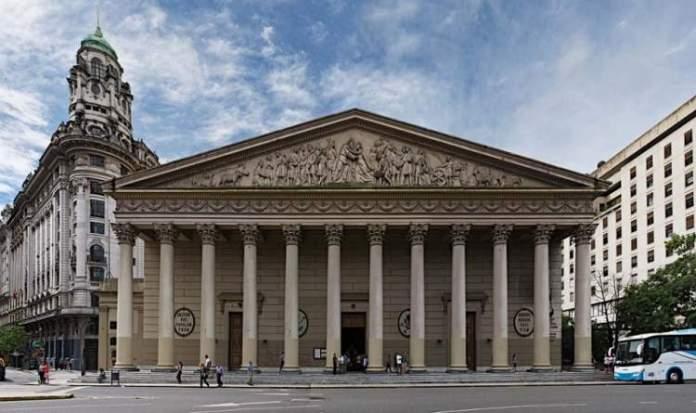 Catedral Metropolitanaé uma das atrações turísticas em Buenos Aires