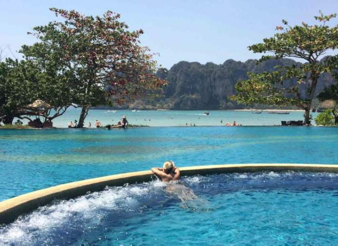 Hospedagem Railay East na Tailândia
