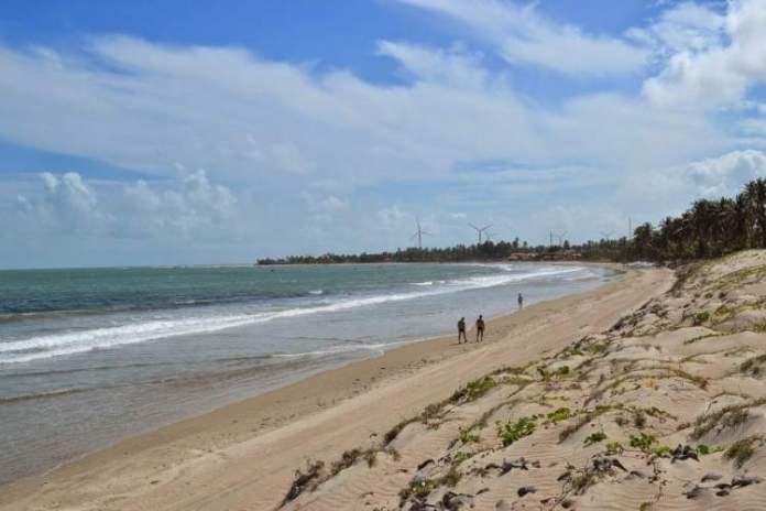 Icaraí de Amontada é um dos destinos com praia para quem ama se exercitar