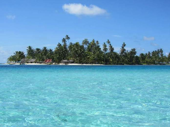 Isla Perro II San Blás no Panamá