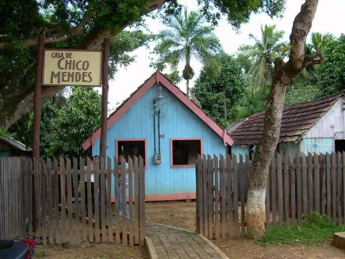 Museu Casa de Chico Mendes no Acre