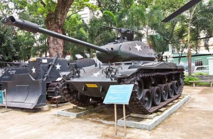 Museu da Guerra em Ho Chi Minh no Vietnã