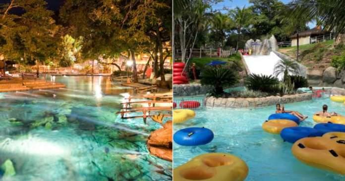 O que fazer em Caldas Novas Conhecer o Parque das Fontes e Hot Parque
