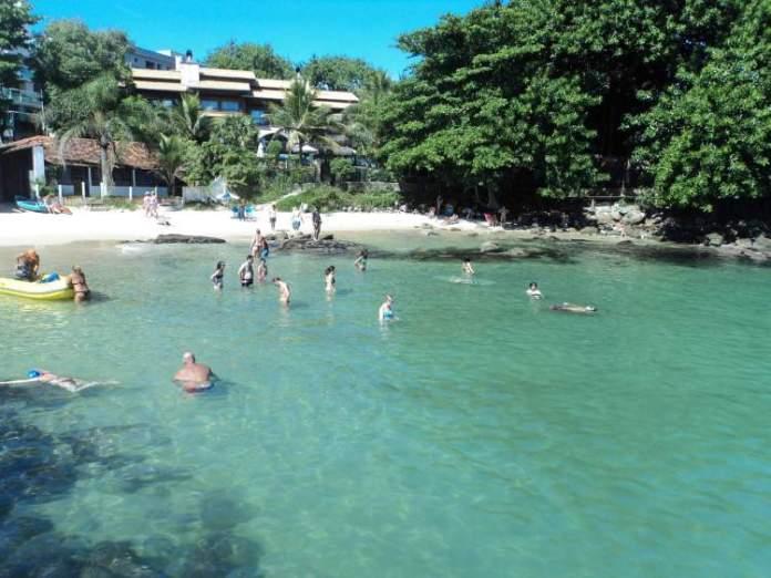Prainha é uma das melhores praias de Bombinhas