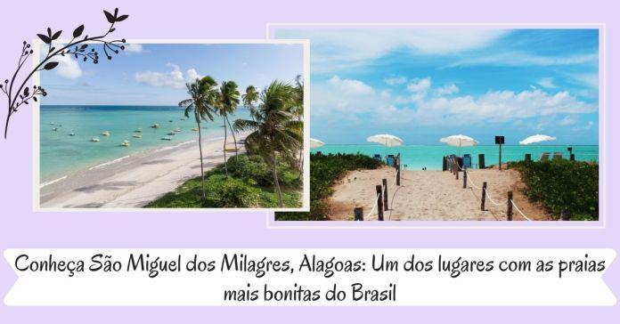 São Miguel dos Milagres, Alagoas.