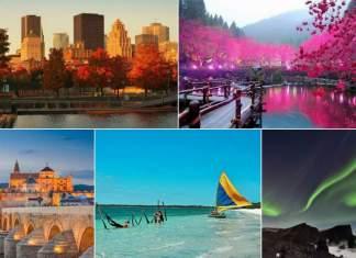 melhores destinos turísticos do mundo