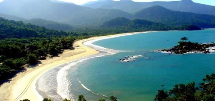 praia de Castelhanos em Ilhabela post