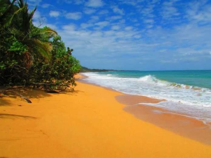 Playa de Boca del Drago é uma das melhores praias do Panamá