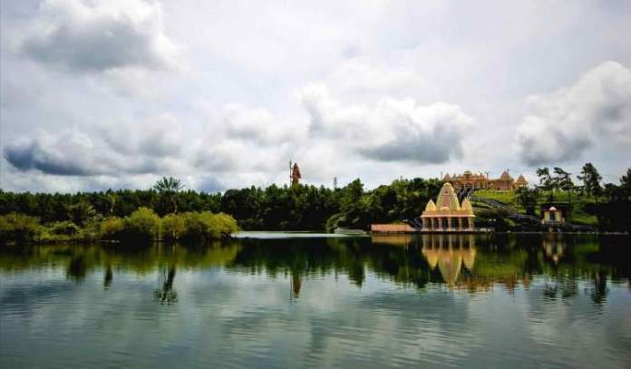 Sacred Lake Ilhas Maurício