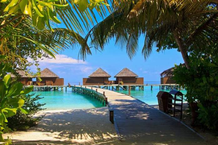 Ilhas Maldivas em Mali post