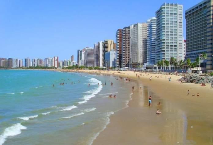 Meireles é uma das melhores praias de Fortaleza