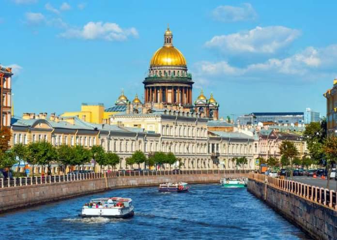 São Petersburgo é um dos destinos baratos para viajar pela Europa em 2019