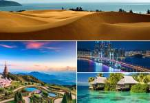 lugares deslumbrantes na Ásia