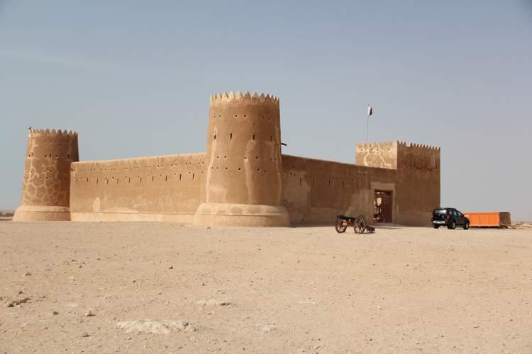 Al Zubarah é um dos lugares para visitar no Qatar