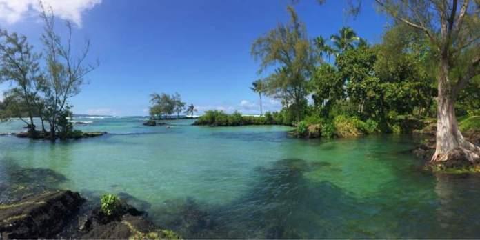 Carlsmith Beach Park no Havaí é um dos lugares mais lindos do mundo