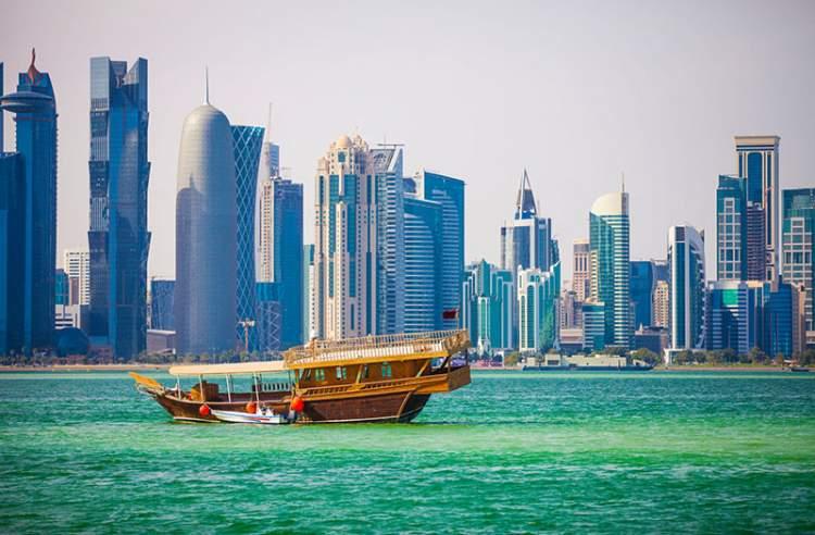 Doha é um dos lugares para visitar no Qatar