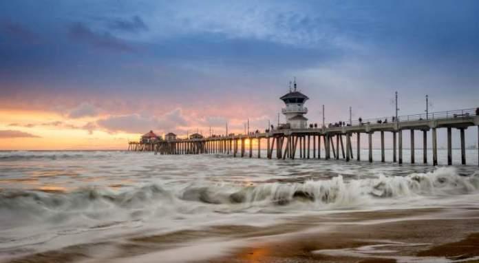 Huntington Beach é uma das melhores praias da Califórnia
