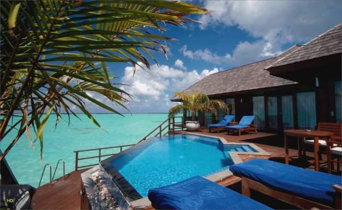 Olhuveli Beach & Spa Maldives é um dos melhores hotéis nas Maldivas
