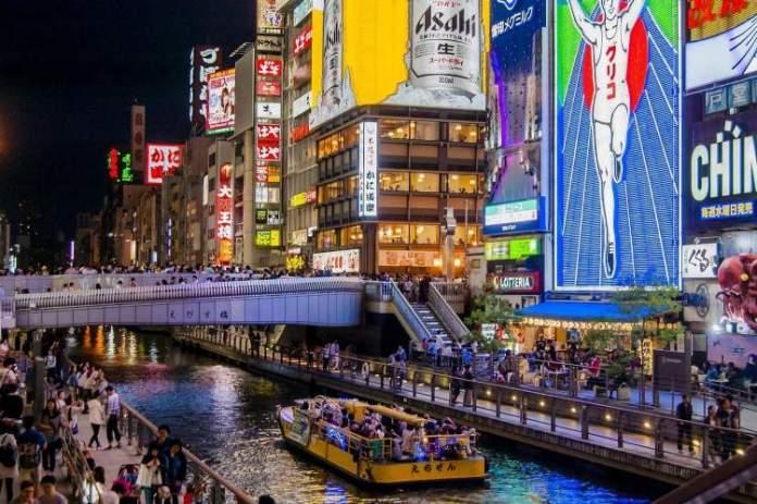 Osaka é um dos melhores lugares para visitar no Japão