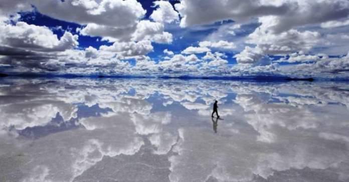 Salar de Uyuni na Bolívia é um dos lugares mais lindos do mundo