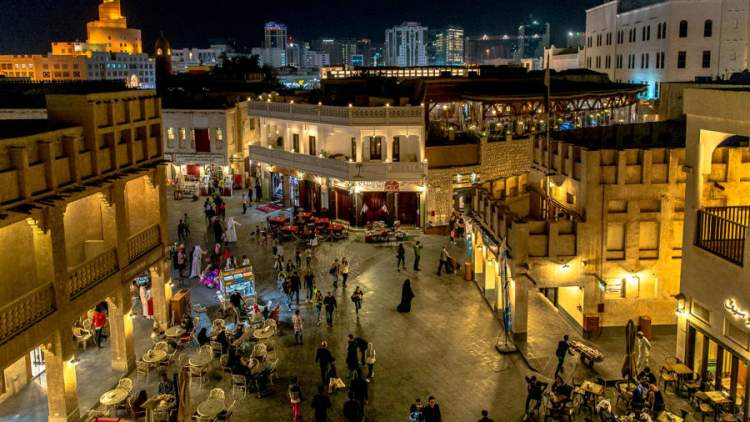 Souq Waqif é um dos lugares para visitar no Qatar