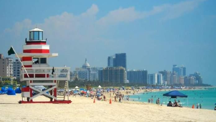 South Beach é uma das melhores praias da Flórida