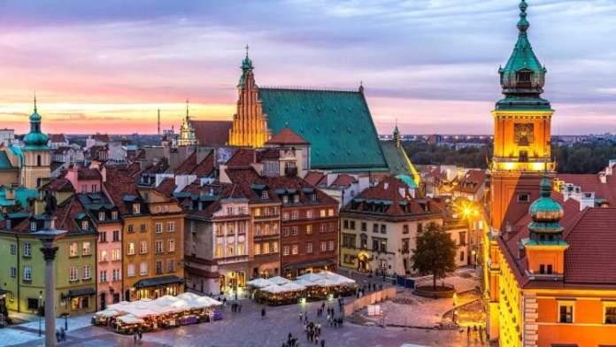 Varsóvia na Polônia é um dos destinos baratos para conhecer na Europa