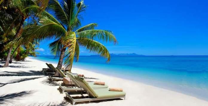 Vomo Island Beach em Fiji