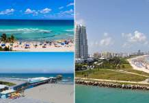 melhores praias de Miami