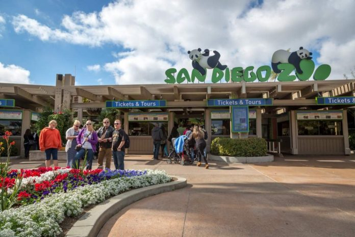 Zoológico em San Diego, Califórnia