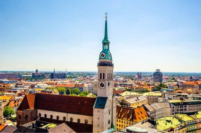 Igreja de Alter Peter em Munique - Alemanha