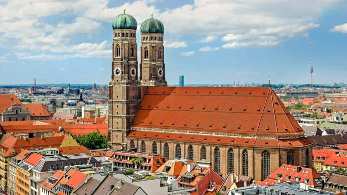 Catedral de Nossa Senhora Bendita em Munique - Alemanha