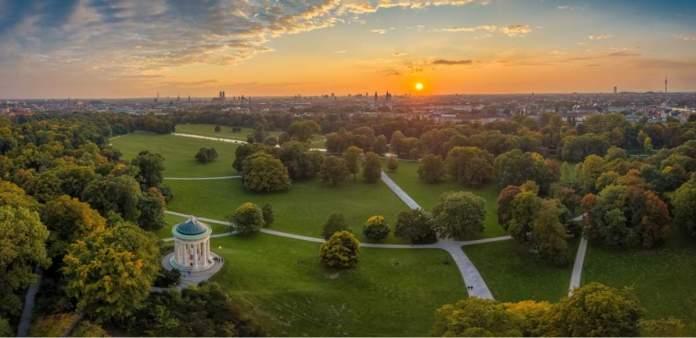 Englischer Garten em Munique - Alemanha
