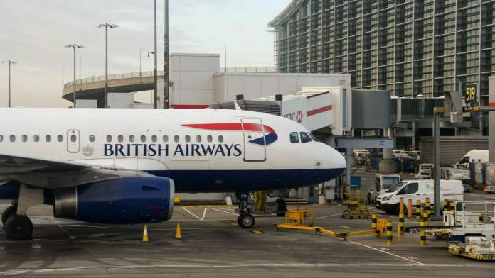 Aeroporto de Heathrow em Londres - Inglaterra