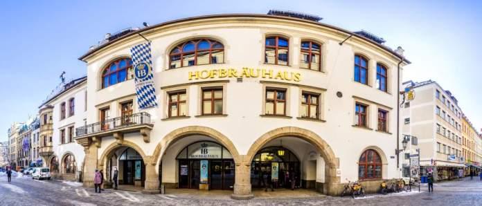 Hofbräuhaus em Munique - Alemanha