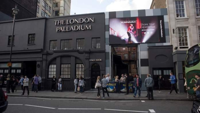 London Palladium em Londres - Inglaterra