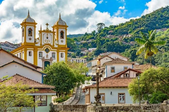 Ouro Preto em Minas Gerais é um dos destinos baratos para viajar em agosto de 2020
