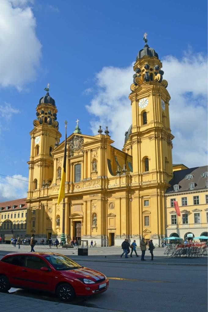 Igreja de São Caetano em Munique - Alemanha