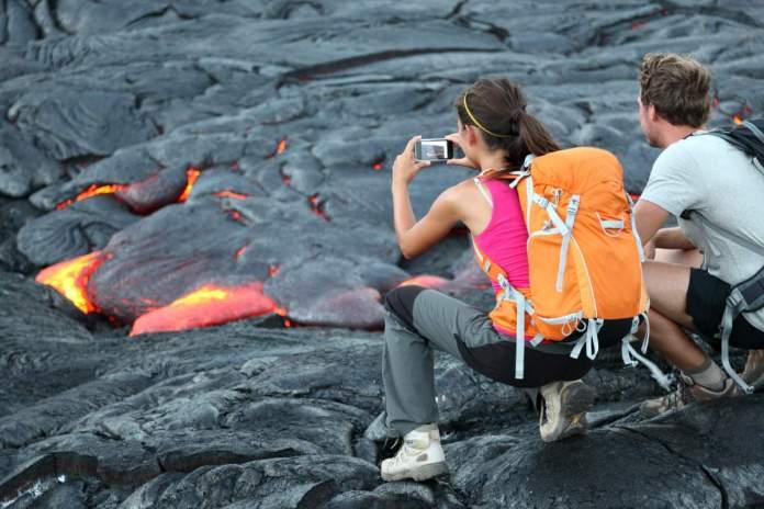 Parque Nacional dos Vulcões em Big Island, Havaí
