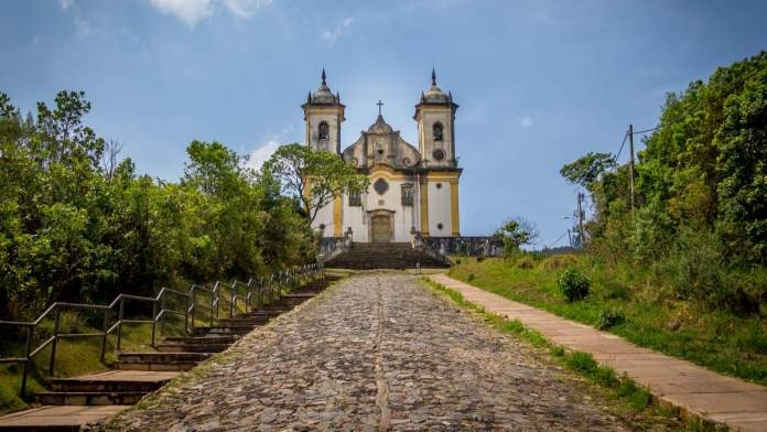 Igreja São Francisco de Paula em Ouro Preto - Minas Gerais