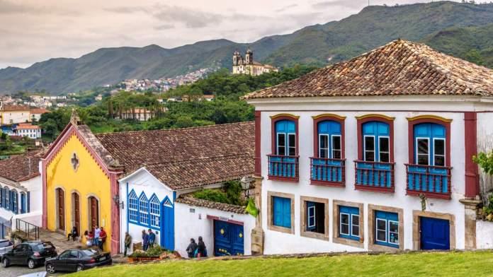 Largo do Rosário em Ouro Preto - Minas Gerais